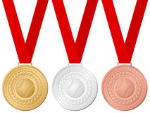 Medals baseball Royalty Free Stock Photography