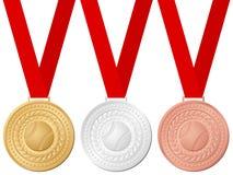 Medals baseball vector illustration