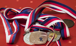 Medals Royalty Free Stock Photo