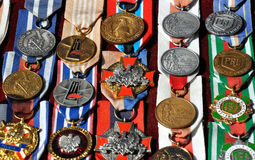 Medals of honor Stock Images