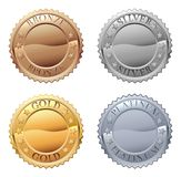 Medals Icon Set stock illustration