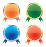 Medals set Royalty Free Stock Photography