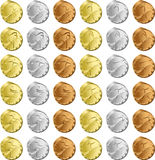 Medals Track Royalty Free Stock Image
