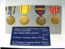 Medals, USMC Royalty Free Stock Image