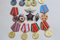 Medals ussr Royalty Free Stock Photo
