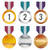 Medals Stock Image