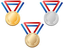 Medals vector Royalty Free Stock Images