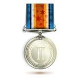 medalu srebro Fotografia Stock