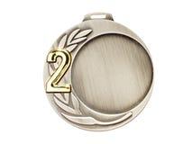 medalu srebro Obraz Royalty Free