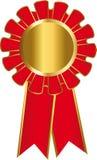 Medalu złoto Zdjęcia Royalty Free