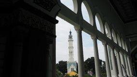 Medan, Indonesia - September  19,2017: Masjid Raya Al Mashun is a mosque located in Medan, Indonesia. The mosque was built in the year 1906 and completed in Stock Photography