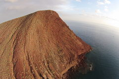 Medano Montana Roja di EL di Tenerife Fotografia Stock Libera da Diritti