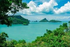 Medborgare Ang Thong Marine Park Royaltyfria Bilder