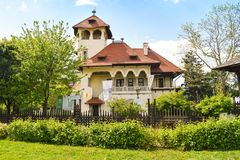 Medborgare Art Museum - Bucharest, Rum?nien - 04 05 2019 royaltyfri fotografi