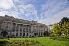 Medborgare Art Museum i Bucharest Arkivfoton