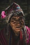 Medborgare av Pisac - Cusco Royaltyfria Foton