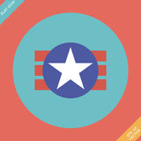 Medborgare av USA symbolismsymbolen Royaltyfri Bild
