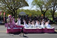 2016 medborgare Cherry Blossom Parade i Washington DC Royaltyfria Foton