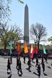 2016 medborgare Cherry Blossom Parade i Washington DC Arkivfoto