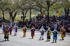 2016 medborgare Cherry Blossom Parade i Washington DC Royaltyfria Bilder