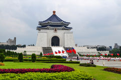 Medborgare Chiany Kai-shek Memorial Hall, Taipei Arkivfoto