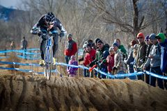 2014 medborgare för USAC Cyclocross Fotografering för Bildbyråer