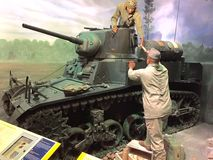 Medborgare Marine Corps Museum Arkivfoto