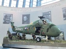 Medborgare Marine Corps Museum Arkivbild
