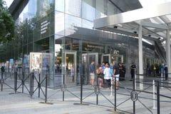 Medborgare minnes- September 11 och museum Arkivfoto