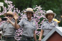 Medborgaren Memorial Day ståtar royaltyfria foton