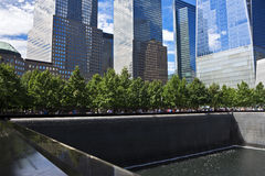 MedborgareSeptember 11 minnesmärke, New York City Royaltyfri Bild