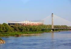 Warsaw medborgarestadion av Polen Arkivfoton