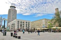 Medborgarplatsen στη Στοκχόλμη Στοκ Φωτογραφίες