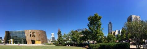 Medborgerliga rättigheter museum, Atlanta, GUMMIN Royaltyfria Bilder