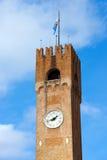 Medborgerligt torn - Treviso Italien Royaltyfria Foton