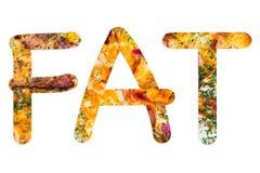 Meddelande från pizza Arkivbilder