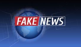 Meddelande och en meddelandelinje med ett meddelande om den senaste nyheterna på luften på en futuristisk orange bakgrund med Arkivfoton