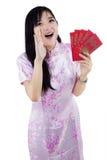 Meddelande om det kinesiska nya året Royaltyfri Foto