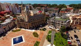 Medea monument på den Europa fyrkanten i Batumi Georgia, turist- destination, legend royaltyfri bild