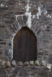 Medeaval-Tür Stockfotografie