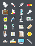 Medecine   icons set. Set of 24 Medecine   icons Royalty Free Stock Image