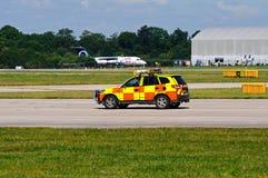 Medel för flygplatssäkerhet, Manchester royaltyfria foton