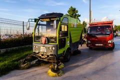 Medel för gatasopare av den Yalova kommunen Royaltyfri Foto