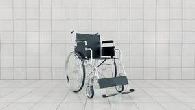 Medel för handikappat, rullstol Arkivbilder