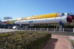 Medel för lansering för Tsukuba utrymmemitt H-II Royaltyfri Fotografi