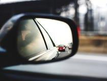 Medel för tittare för spegelbil automatiskt Arkivbilder
