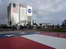 Medelenhetsbyggnad på Cape Canaveral Royaltyfri Fotografi