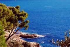 Medelhav nära trevliga Frankrike Arkivfoton