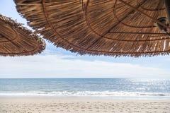 Medelhav solig dag för vår, arkivfoton