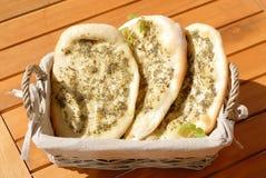 medelhavs- bröd Arkivbild